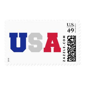 USA flag United States Stamp