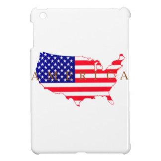 USA Flag - USA Map - America Case For The iPad Mini