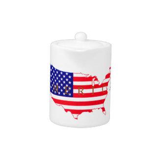 USA Flag - USA Map - America