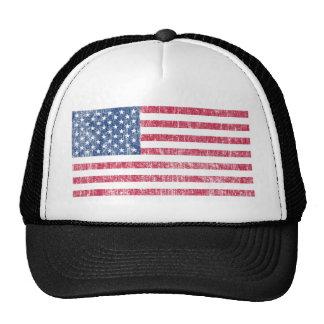 USA Flag Vintage Trucker Hat