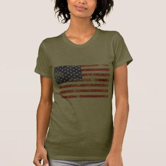 USA Flag Vintage Tee Shirt