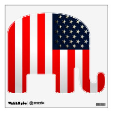 USA Flag Wall Sticker