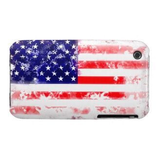 USA FLAG WASH iPhone 3 Case-Mate CASE