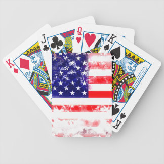 USA FLAG WASH BICYCLE CARD DECK