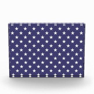 USA Flag White Stars on Flag Blue Award