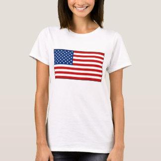 USA Flag x Map T-Shirt