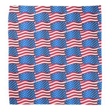 USA Themed USA flags Bandana
