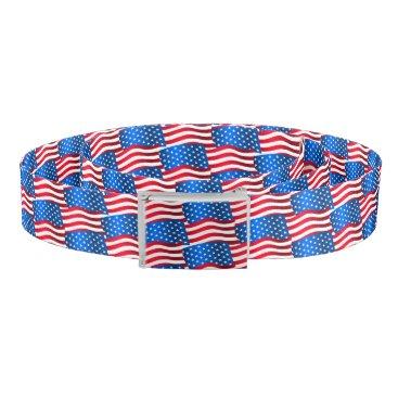 USA Themed USA flags Belt