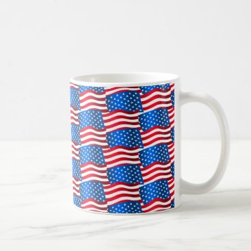 USA Themed USA flags Coffee Mug