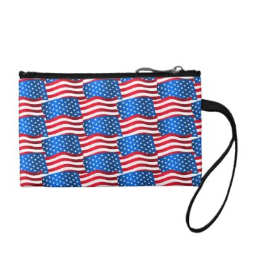 USA Themed USA flags Coin Wallet