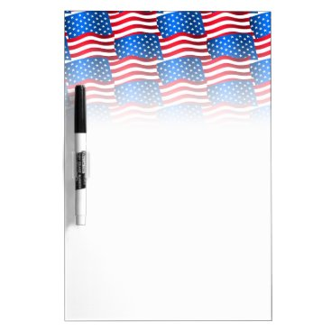 USA Themed USA flags Dry-Erase Board