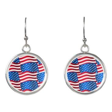 USA Themed USA flags Earrings