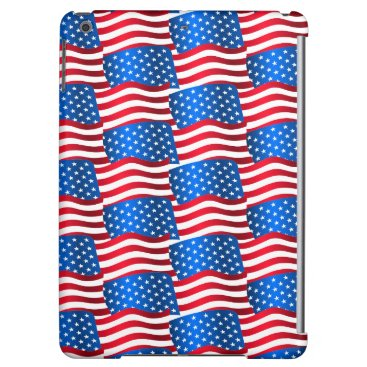 USA Themed USA flags iPad Air Cover