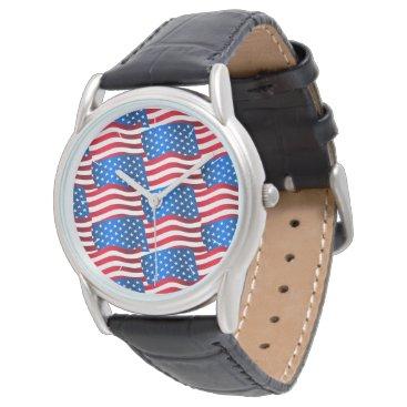 USA Themed USA flags Watch