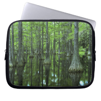 USA, Florida, Apalachicola National Forest, Bald Laptop Computer Sleeve