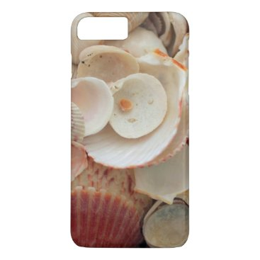 USA Themed USA, Florida. Close Up Of Shells On Santa Rosa iPhone 8 Plus/7 Plus Case