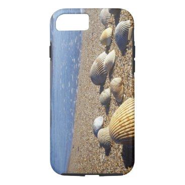 USA Themed USA, Florida, Coastal Sea Shells iPhone 7 Case