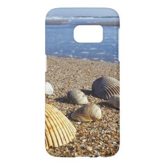 USA, Florida, Coastal Sea Shells Samsung Galaxy S7 Case