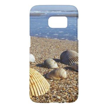 USA Themed USA, Florida, Coastal Sea Shells Samsung Galaxy S7 Case