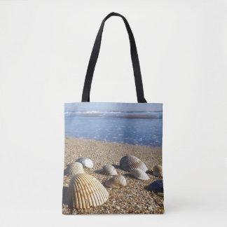 USA, Florida, Coastal Sea Shells Tote Bag