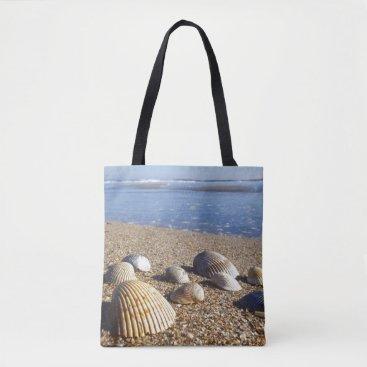 USA Themed USA, Florida, Coastal Sea Shells Tote Bag