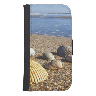 USA, Florida, Coastal Sea Shells Wallet Phone Case For Samsung Galaxy S4