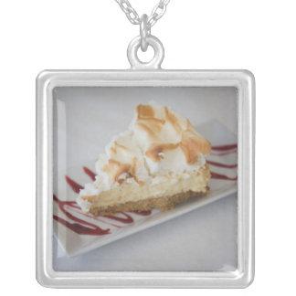 USA, Florida, Florida Panhandle, Seaside, key Silver Plated Necklace