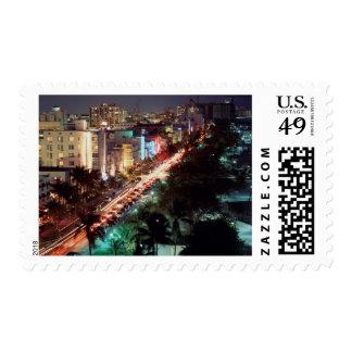 USA, Florida, Miami Beach, Ocean Drive, Art Deco 2 Postage