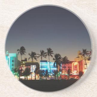 USA, Florida, Miami Beach, Ocean Drive, Art Deco Coaster