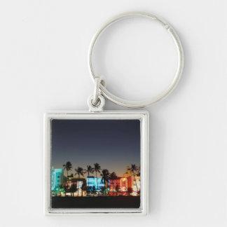 USA, Florida, Miami Beach, Ocean Drive, Art Deco Keychain