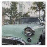 USA, Florida, Miami Beach: South Beach, 1956 3 Large Square Tile