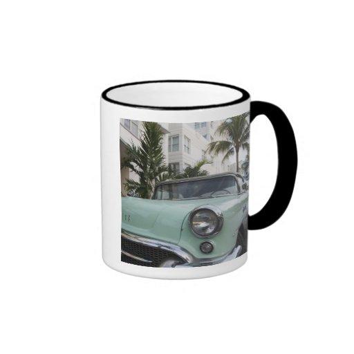 USA, Florida, Miami Beach: South Beach, 1956 3 Coffee Mugs