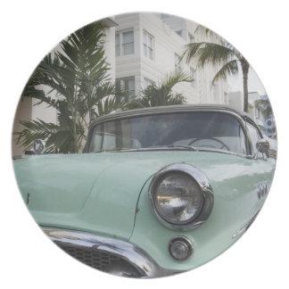 USA, Florida, Miami Beach: South Beach, 1956 3 Plate
