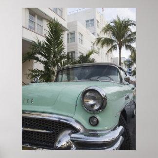 USA, Florida, Miami Beach: South Beach, 1956 3 Poster