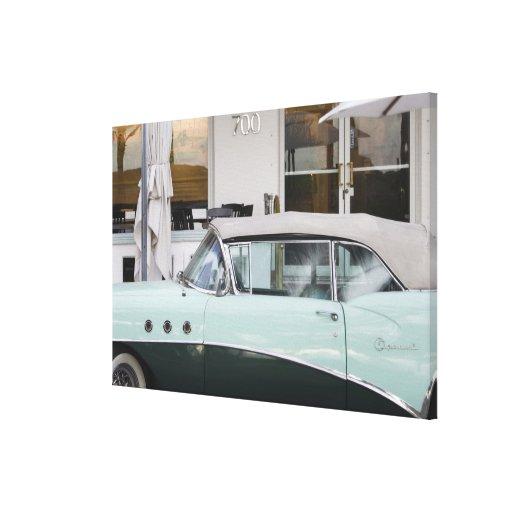 USA, Florida, Miami Beach: South Beach, 1956 Gallery Wrapped Canvas