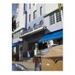 USA, Florida, Miami Beach: South Beach, Art Deco Postcard