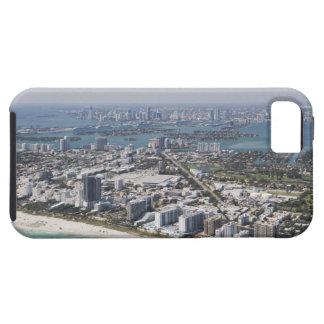 USA, Florida, Miami, Cityscape with beach 3 iPhone SE/5/5s Case