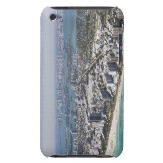 USA, Florida, Miami, Cityscape with beach 3 iPod Touch Cover