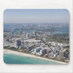 USA, Florida, Miami, Cityscape with beach 3 Mouse Pad