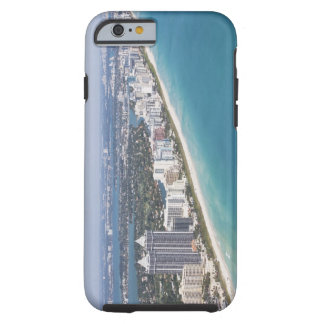 USA, Florida, Miami, Cityscape with beach Tough iPhone 6 Case