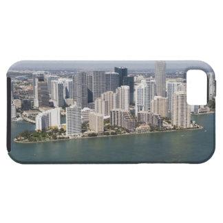 USA, Florida, Miami, Cityscape with coastline 2 iPhone SE/5/5s Case