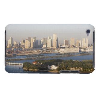 USA, Florida, Miami, Cityscape with coastline Case-Mate iPod Touch Case