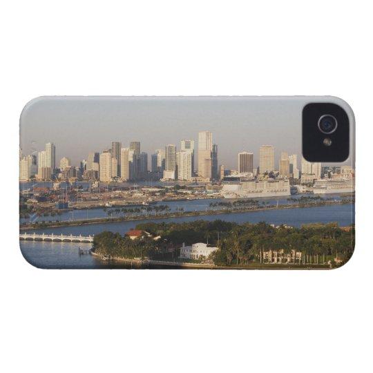 USA, Florida, Miami, Cityscape with coastline iPhone 4 Cover