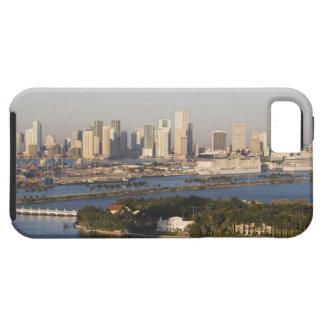 USA, Florida, Miami, Cityscape with coastline iPhone SE/5/5s Case
