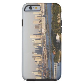 USA, Florida, Miami, Cityscape with coastline Tough iPhone 6 Case