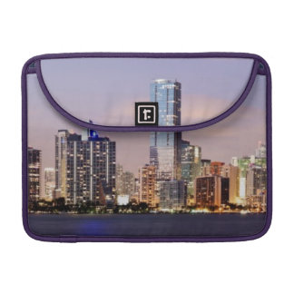 USA, Florida, Miami skyline at dusk 2 MacBook Pro Sleeve