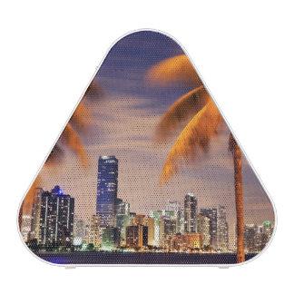 USA, Florida, Miami skyline at dusk Bluetooth Speaker