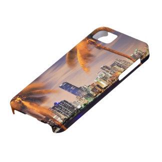 USA, Florida, Miami skyline at dusk iPhone 5 Cases