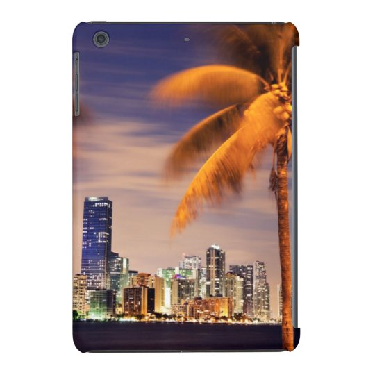 USA, Florida, Miami skyline at dusk iPad Mini Retina Case