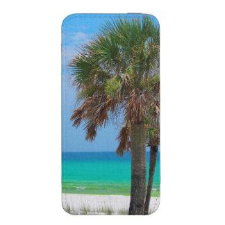 USA, Florida. Palm Trees On Emerald Coast iPhone 5 Pouch